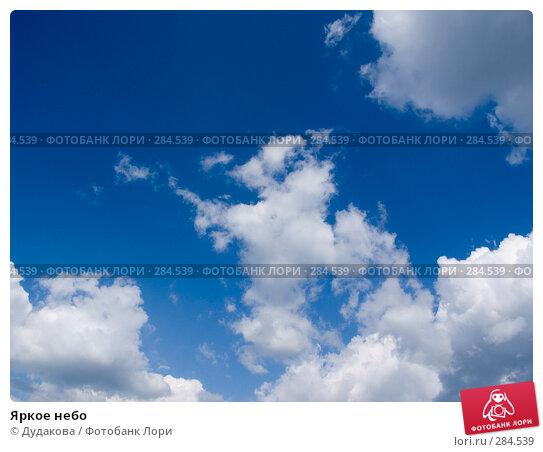 Купить «Яркое небо», фото № 284539, снято 13 мая 2008 г. (c) Дудакова / Фотобанк Лори
