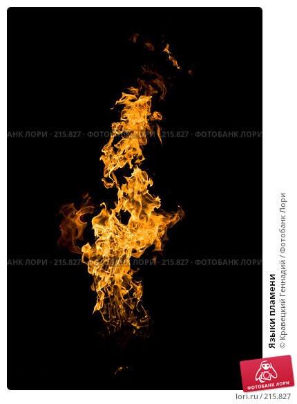 Языки пламени, фото № 215827, снято 14 ноября 2006 г. (c) Кравецкий Геннадий / Фотобанк Лори