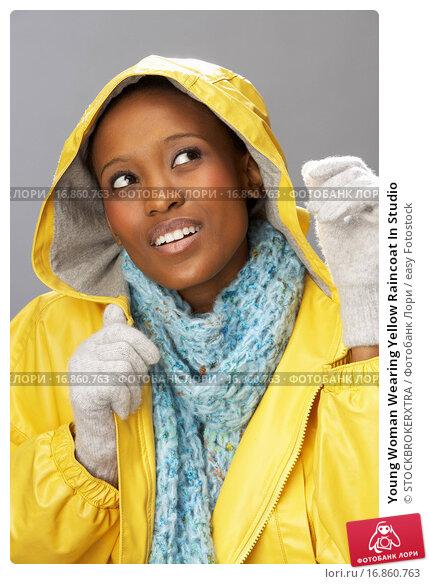 Купить «Young Woman Wearing Yellow Raincoat In Studio», фото № 16860763, снято 2 апреля 2020 г. (c) easy Fotostock / Фотобанк Лори