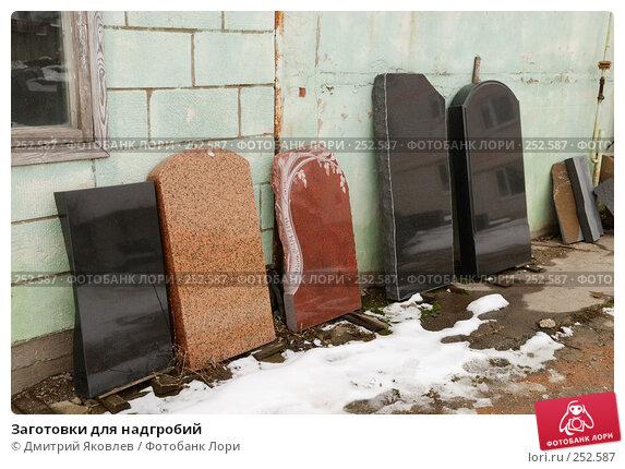 Заготовки для надгробий, фото № 252587, снято 10 марта 2008 г. (c) Дмитрий Яковлев / Фотобанк Лори