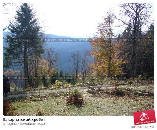 Закарпатский хребет, фото № 168731, снято 22 октября 2006 г. (c) Вадим / Фотобанк Лори