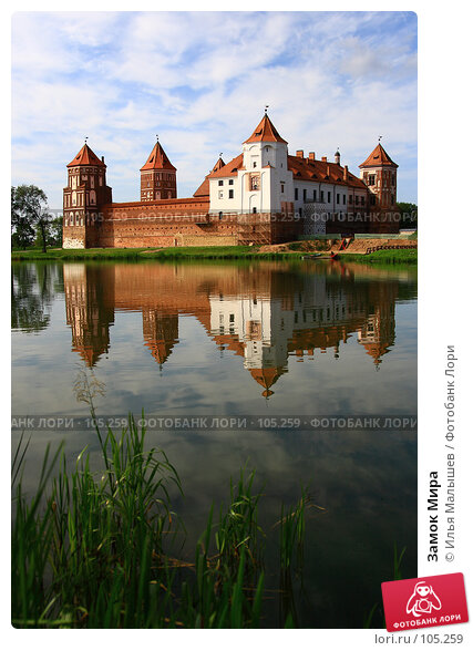 Замок Мира, фото № 105259, снято 24 марта 2017 г. (c) Илья Малышев / Фотобанк Лори