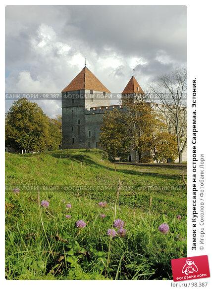 Замок в Курессааре на острове Сааремаа. Эстония., фото № 98387, снято 22 октября 2016 г. (c) Игорь Соколов / Фотобанк Лори