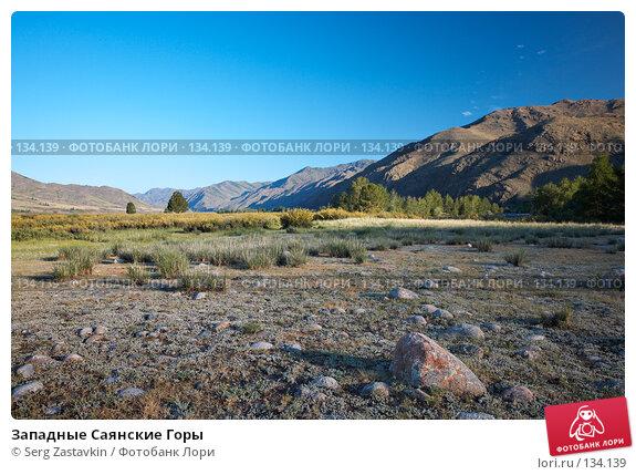 Западные Саянские Горы, фото № 134139, снято 26 июня 2006 г. (c) Serg Zastavkin / Фотобанк Лори
