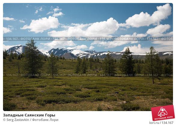 Западные Саянские Горы, фото № 134167, снято 28 июня 2006 г. (c) Serg Zastavkin / Фотобанк Лори
