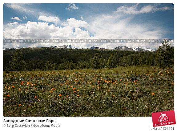 Купить «Западные Саянские Горы», фото № 134191, снято 1 июля 2006 г. (c) Serg Zastavkin / Фотобанк Лори