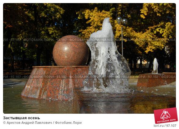 Купить «Застывшая осень», фото № 97107, снято 15 сентября 2007 г. (c) Арестов Андрей Павлович / Фотобанк Лори