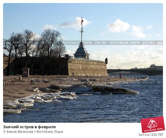 Заячий остров в феврале, фото № 233787, снято 26 февраля 2008 г. (c) Бяков Вячеслав / Фотобанк Лори