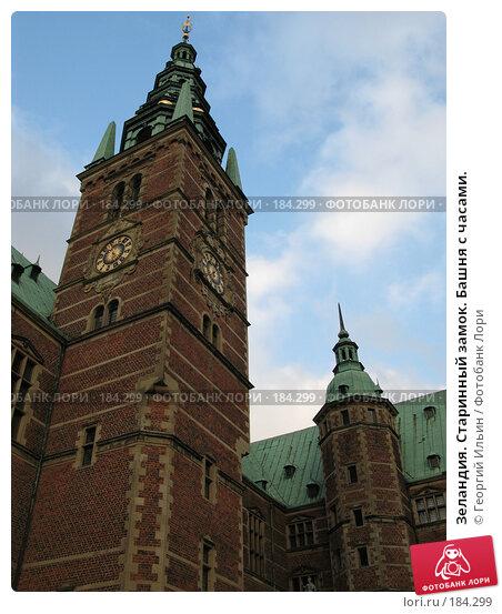 Купить «Зеландия. Старинный замок. Башня с часами.», фото № 184299, снято 3 января 2008 г. (c) Георгий Ильин / Фотобанк Лори