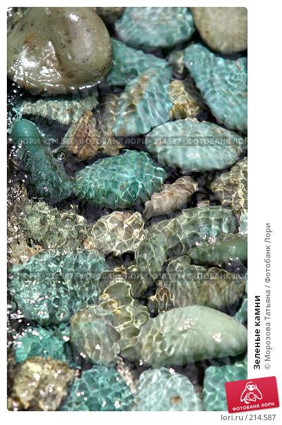 Зеленые камни, фото № 214587, снято 23 февраля 2008 г. (c) Морозова Татьяна / Фотобанк Лори