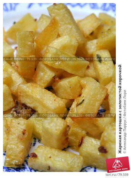 Жареная картошка с золотистой корочкой, фото № 79339, снято 29 августа 2006 г. (c) Александр Паррус / Фотобанк Лори