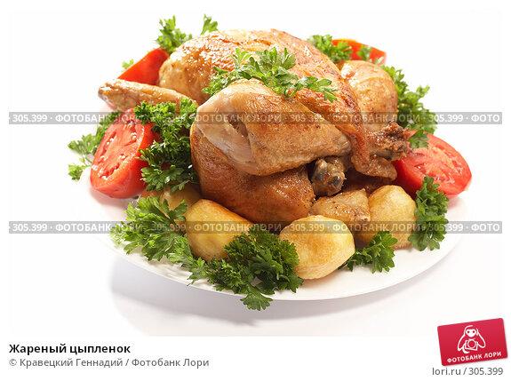 Жареный цыпленок, фото № 305399, снято 5 сентября 2005 г. (c) Кравецкий Геннадий / Фотобанк Лори