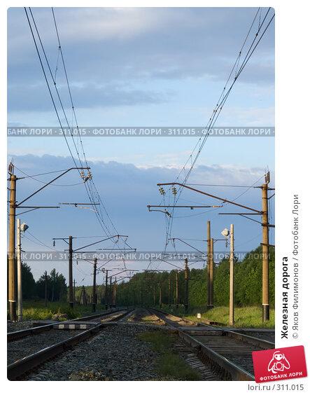Железная дорога, фото № 311015, снято 29 мая 2008 г. (c) Яков Филимонов / Фотобанк Лори