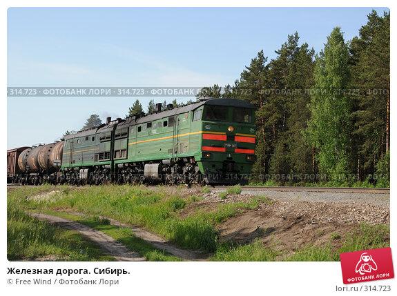Железная дорога. Сибирь., эксклюзивное фото № 314723, снято 8 июня 2008 г. (c) Free Wind / Фотобанк Лори