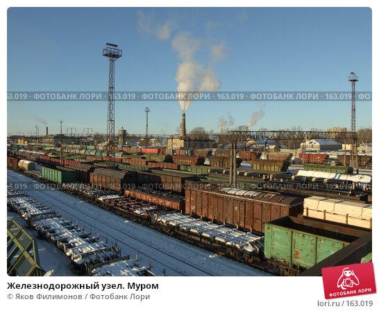 Купить «Железнодорожный узел. Муром», фото № 163019, снято 23 декабря 2007 г. (c) Яков Филимонов / Фотобанк Лори