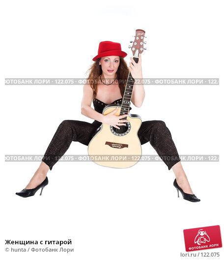 Женщина с гитарой, фото № 122075, снято 5 августа 2007 г. (c) hunta / Фотобанк Лори