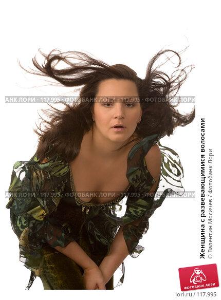 Женщина с развевающимися волосами, фото № 117995, снято 3 ноября 2007 г. (c) Валентин Мосичев / Фотобанк Лори
