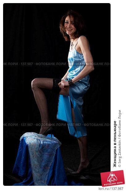 Женщина в пеньюаре, фото № 137987, снято 19 апреля 2007 г. (c) Serg Zastavkin / Фотобанк Лори