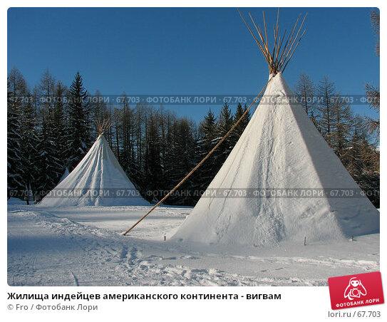 Жилища индейцев американского континента - вигвам, фото № 67703, снято 28 января 2007 г. (c) Fro / Фотобанк Лори