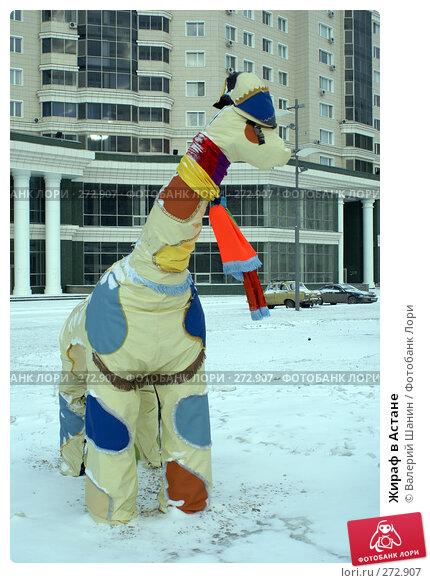 Жираф в Астане, фото № 272907, снято 22 ноября 2007 г. (c) Валерий Шанин / Фотобанк Лори
