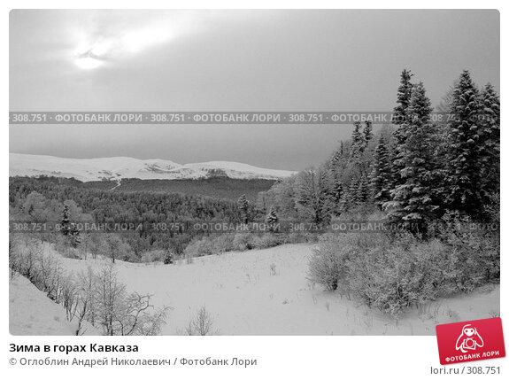 Зима в горах Кавказа, фото № 308751, снято 21 августа 2017 г. (c) Оглоблин Андрей Николаевич / Фотобанк Лори