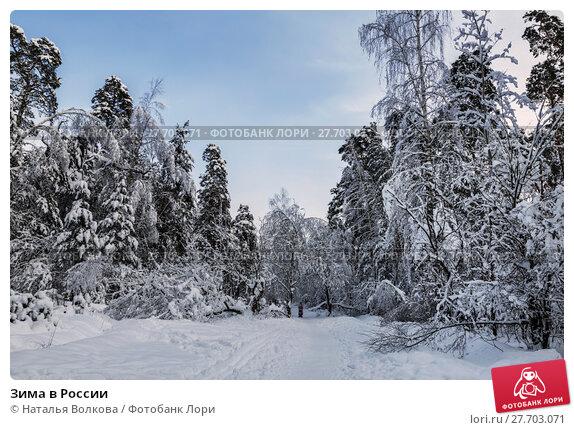 Купить «Зима в России», фото № 27703071, снято 9 февраля 2018 г. (c) Наталья Волкова / Фотобанк Лори