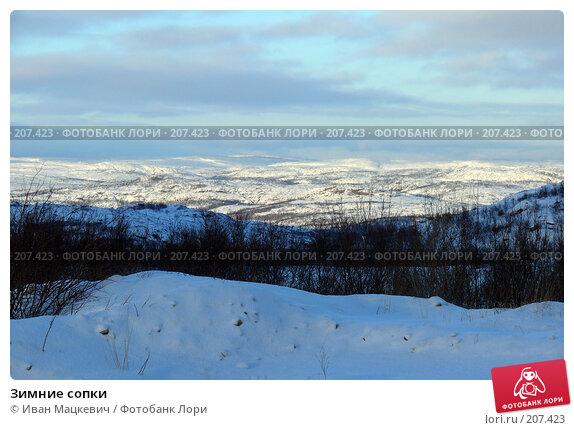 Купить «Зимние сопки», фото № 207423, снято 6 февраля 2008 г. (c) Иван Мацкевич / Фотобанк Лори
