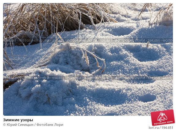 Зимние узоры, фото № 194651, снято 8 января 2008 г. (c) Юрий Синицын / Фотобанк Лори