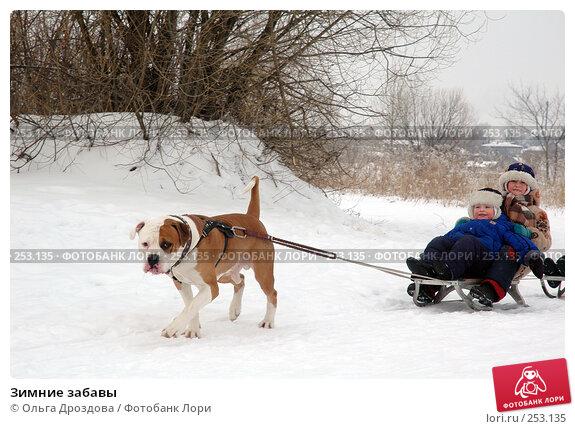 Зимние забавы, фото № 253135, снято 26 февраля 2005 г. (c) Ольга Дроздова / Фотобанк Лори