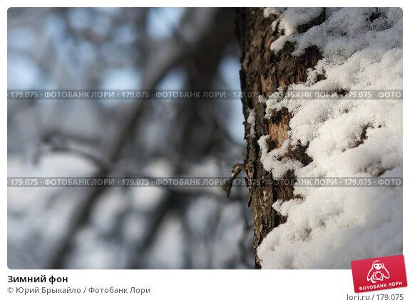 Зимний фон, фото № 179075, снято 18 ноября 2007 г. (c) Юрий Брыкайло / Фотобанк Лори