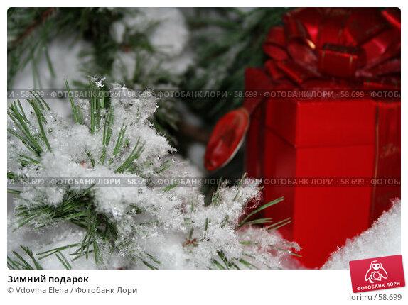 Зимний подарок, фото № 58699, снято 30 ноября 2006 г. (c) Vdovina Elena / Фотобанк Лори