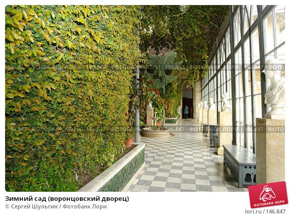 Зимний сад (воронцовский дворец), фото № 146847, снято 8 апреля 2007 г. (c) Сергей Шульгин / Фотобанк Лори