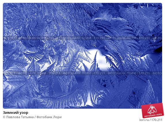 Зимний узор, фото № 170211, снято 4 января 2008 г. (c) Павлова Татьяна / Фотобанк Лори