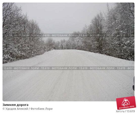 Зимняя дорога, фото № 13619, снято 27 марта 2017 г. (c) Удодов Алексей / Фотобанк Лори