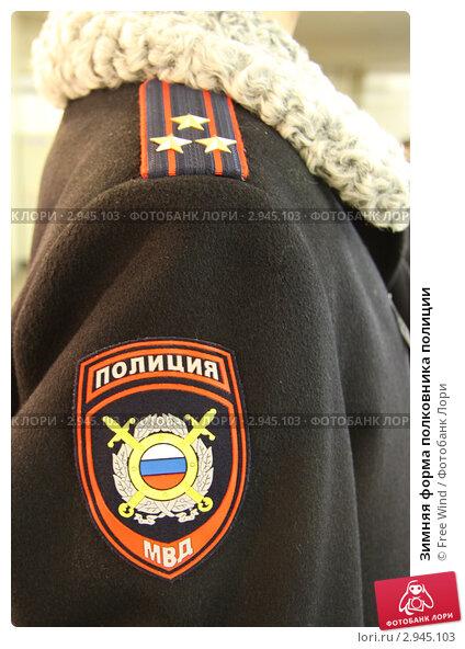Купить «Зимняя форма полковника полиции», эксклюзивное фото № 2945103, снято 28 октября 2011 г. (c) Free Wind / Фотобанк Лори