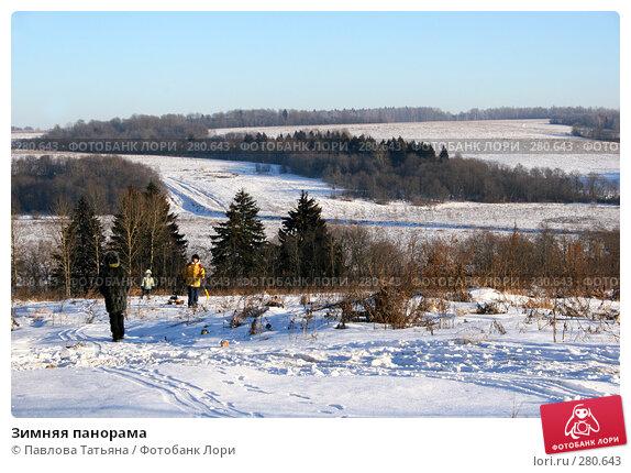 Зимняя панорама, фото № 280643, снято 4 января 2008 г. (c) Павлова Татьяна / Фотобанк Лори