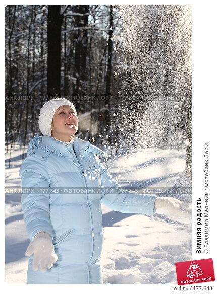 Купить «Зимняя радость», фото № 177643, снято 11 февраля 2007 г. (c) Владимир Мельник / Фотобанк Лори