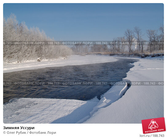 Зимняя Уссури, фото № 188743, снято 21 января 2008 г. (c) Олег Рубик / Фотобанк Лори