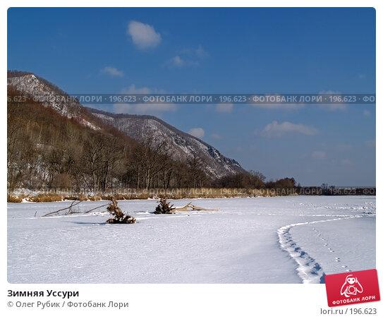 Зимняя Уссури, фото № 196623, снято 31 января 2008 г. (c) Олег Рубик / Фотобанк Лори