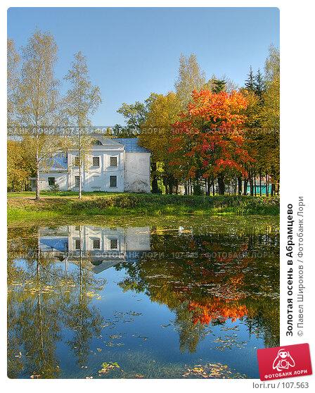 Золотая осень в Абрамцево, эксклюзивное фото № 107563, снято 26 октября 2016 г. (c) Павел Широков / Фотобанк Лори