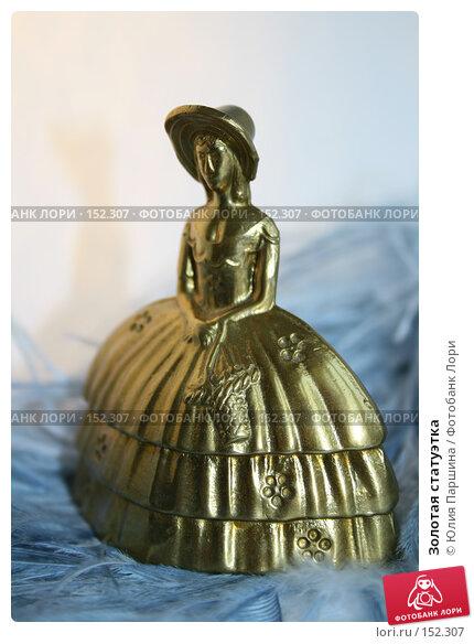 Золотая статуэтка, фото № 152307, снято 24 ноября 2007 г. (c) Юлия Паршина / Фотобанк Лори