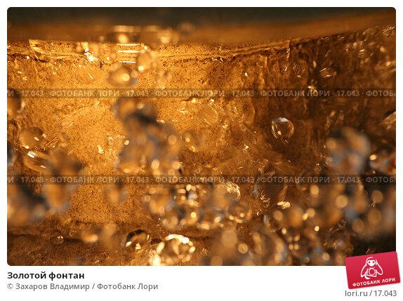 Купить «Золотой фонтан», фото № 17043, снято 4 сентября 2005 г. (c) Захаров Владимир / Фотобанк Лори