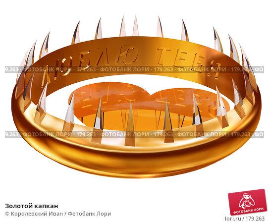 Купить «Золотой капкан», иллюстрация № 179263 (c) Королевский Иван / Фотобанк Лори