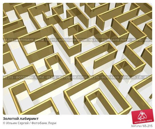 Золотой лабиринт, иллюстрация № 65215 (c) Ильин Сергей / Фотобанк Лори