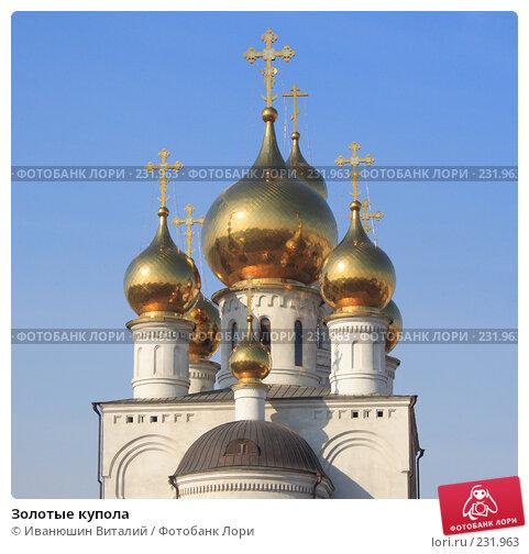 Золотые купола, фото № 231963, снято 25 июня 2017 г. (c) Иванюшин Виталий / Фотобанк Лори