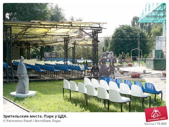 Зрительские места. Парк у ЦДХ., фото № 75899, снято 23 августа 2007 г. (c) Parmenov Pavel / Фотобанк Лори